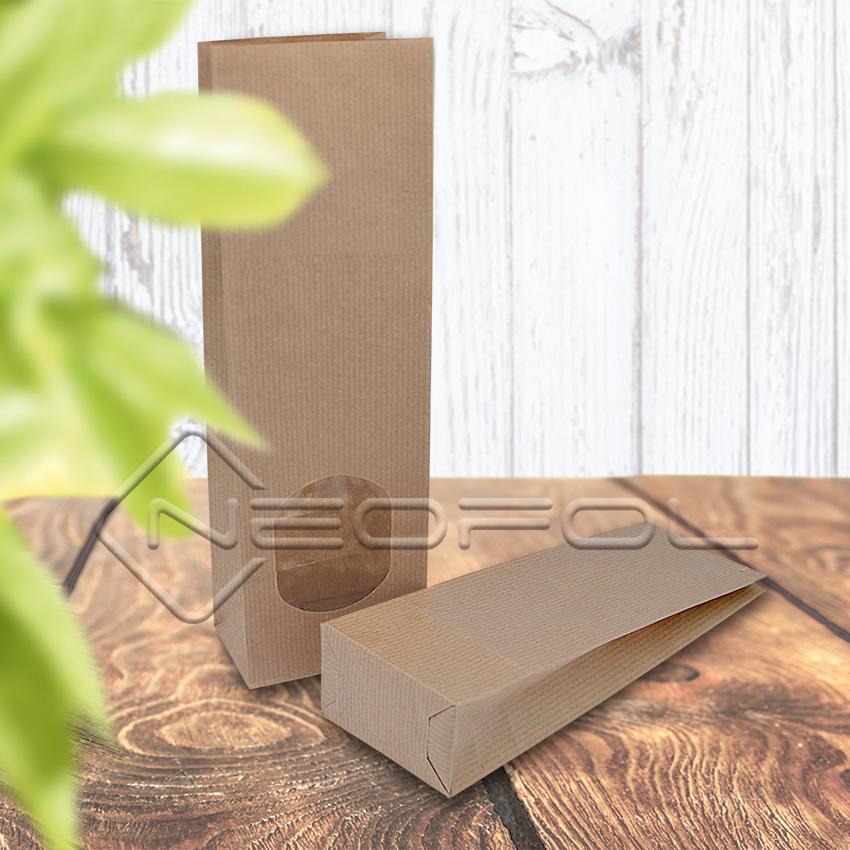 Papier Blockbodenbeutel