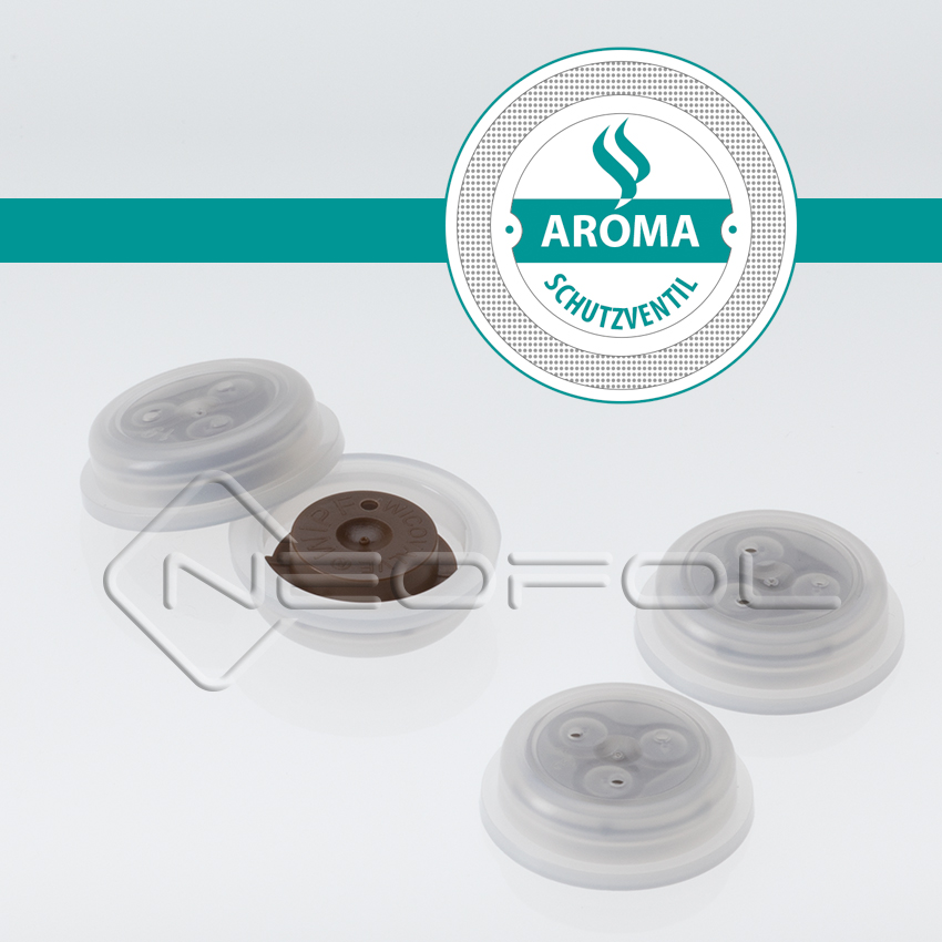 Kaffeeverpackungen Aromaschutzventil
