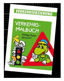 Arbeitsheft Verkehrs-Malbuch
